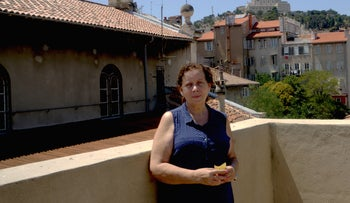 Martine Yana, director of the Edmond Fleg Center. The community center found itself at the center of controversy after holding an event where women publicly read from the Torah in Marseille, France, July 10, 2017.
