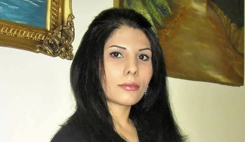 Iranian journalist Neda Amin was facing persecution at home after writing for Israeli media.