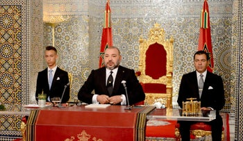 'The king is not God, he is sometimes wrong': Arab Spring rattles Morocco. King Mohammed VI, center, brother Prince Moulay Rachid, right, and Crown Prince Moulay Hassan, July 29, 2017
