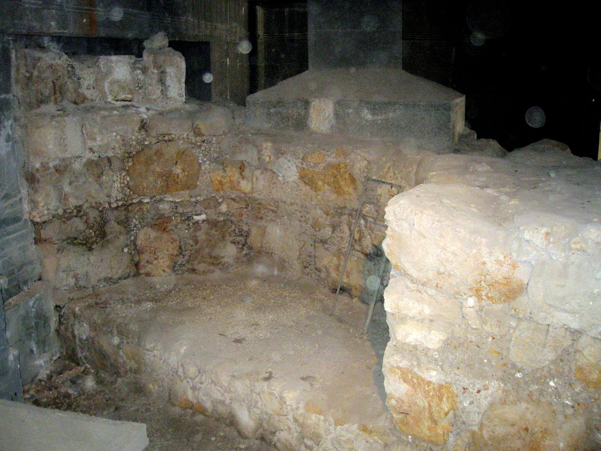 Excavating the New Church of the Theotokos, also known as The Nea Church, which the Holy Roman Emperor Justinian had built in Jerusalem.