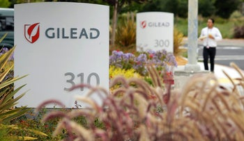 The headquarters of Gilead Sciences in Foster City, California