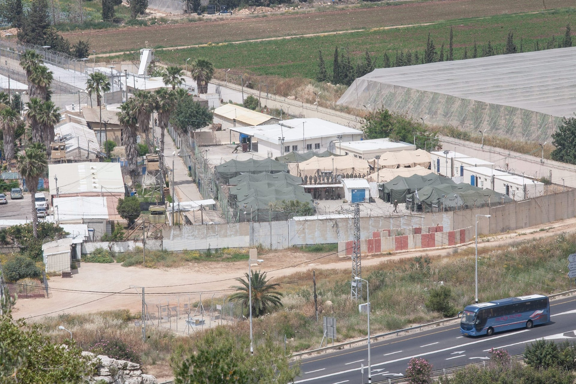 Prison 6, near Atlit, in 2013. Its replacement is set to open in 2020.