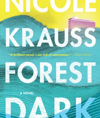Cover of Nicole Krauss's 'Forest Dark'