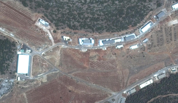 File photo: The facility in Syria that Israel allegedly struck in September 2017.
