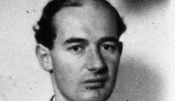 An undated black and white file photo showing World War II hero, Sweden's envoy to Nazi-occupied Hungary, Raoul Wallenberg.