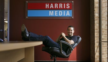 Vincent Harris, CEO of Harris Media, who worked with Netanyahu, Trump and AfD.