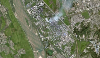 A suspected production site for an advanced rocket fuel known as UDMH in Hamhung, North Korea.
