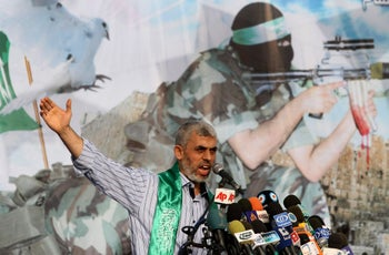 Yehiye Sinwar, a founder of Hamas' military wing and now prime minister of Gaza, served 25 years in Israeli jail for his role in the abduction and killing of two Israeli soldiers in the 1980s. He was freed in the Shalit prisoner swap in 2011.