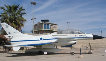 Prototype of Lavi jet, created by Israel but scrapped before manufacture.