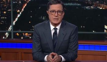 Colbert To Trump: 'Doing Nothing Is Cowardice'