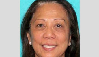 An image released by the Las Vegas Metropolitan Police Department of Marilou Danley in connection to the shooting in Las Vegas, U.S., October 2, 2017.