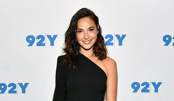 Gal Gadot attends Gal Gadot and Meher Tatna in Conversation with Carla Sosenko at 92nd Street Y on October 1, 2017, in New York City.