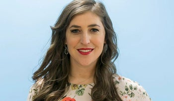 """In this May. 23, 2017, photo, actress and author Mayim Bialik poses for a photo in Los Angeles. Bialik plays smart on TV's """"The Big Bang Theory"""" and is smart in real life, with a Ph.D. in neuroscience as evidence"""