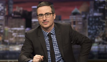 """Last Week Tonight"" host John Oliver."