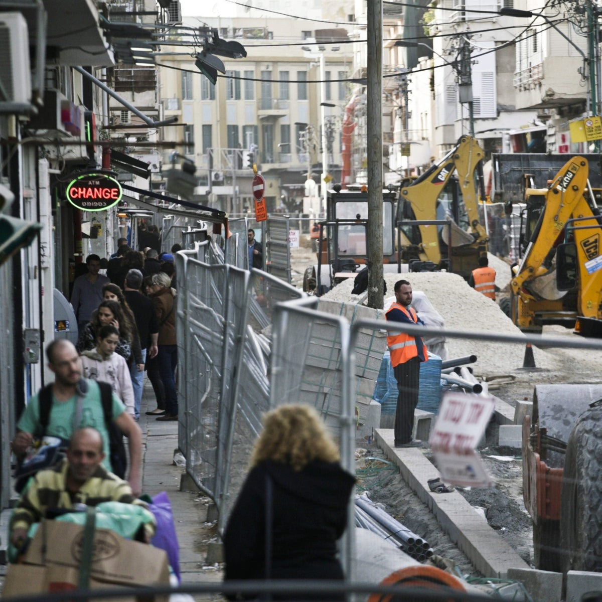 File photo: Sheinkin St. in Tel Aviv.