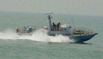 An Israeli Super-Dvora MK III sold to Myanmar during its anti-Rohingya ethnic cleansing campaign