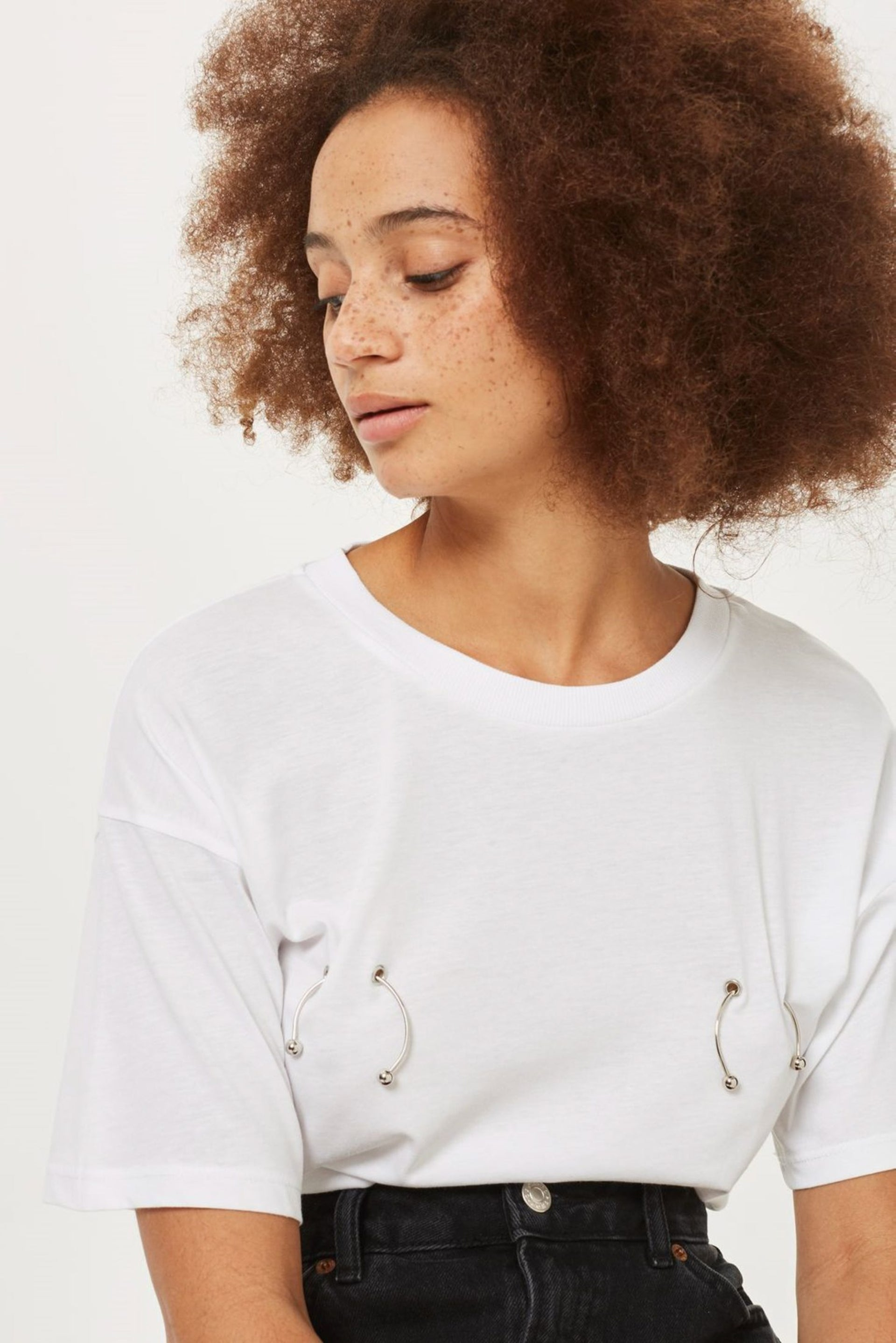 A T-shirt by TOPSHOP