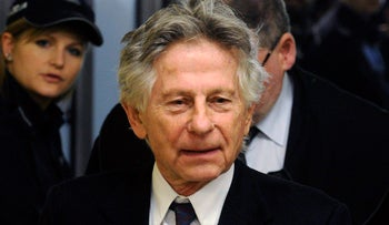 Oscar-winning director Roman Polanski arrives for a news conference in Krakow, Poland October 30, 2015.  A Polish court rejected on Friday a U.S. request to extradite Roman Polanski for charges stemming from having sexual intercourse with a 13-year-old girl in the 1970s (Reuters)