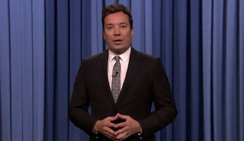 Jimmy Fallon gets in on the Trump bashing: Standing ovation was for him leaving