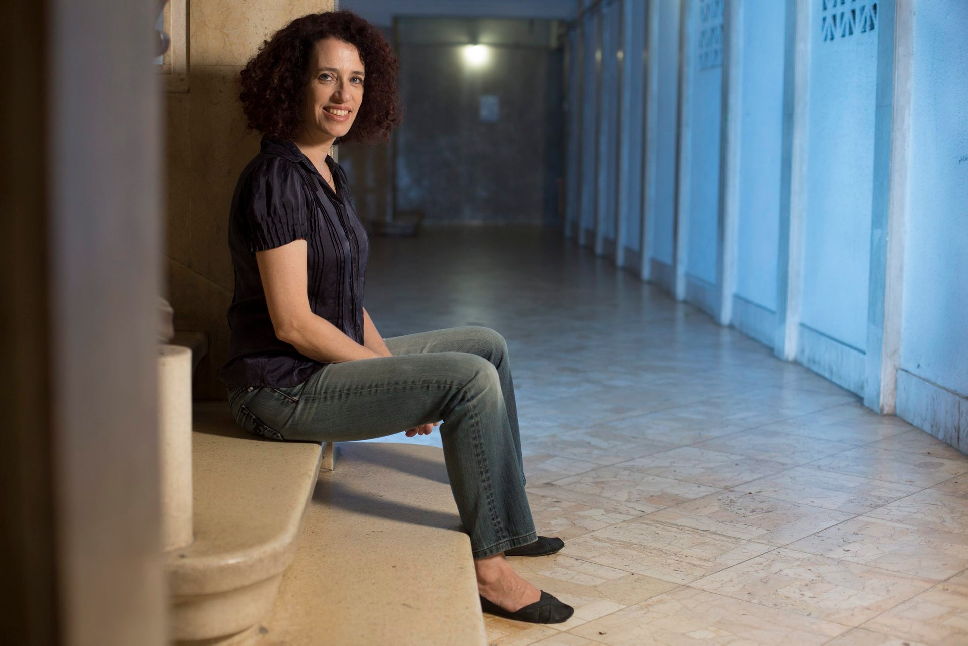 """Sarit Magen, author of the Hebrew-language book """"A Child of your Own – Behind the Curtain of Fertility Treatments in Israel."""""""