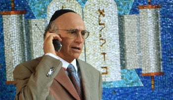 Is Larry David a better Jew than most Israelis?