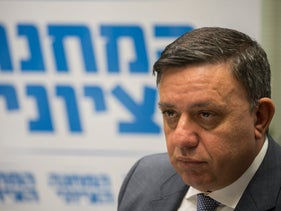 Labor Party leader Avi Gabbay, October 2017.