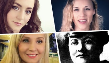 Clockwise from top left: Brittany Pettibone, Lana Lokteff, Elizabeth Tyler, 1922, and Lauren Southern.