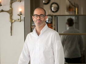Chef Barak Aharoni. 'It's still a restaurant in a hotel but one that stands on its own.'