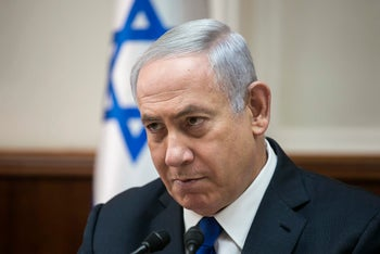 Netanyahu accuses his detractors of harassing his family merely because they cannot present an alternative to his policies. But Netanyahu has no policy.