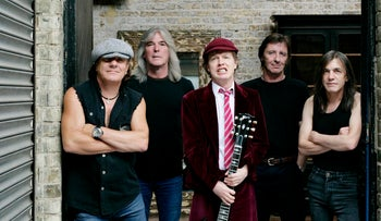 April 15, 2009: Australian hard-rock group 'AC/DC'