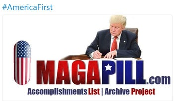 Trump tweets anti-Semitic, conspiracy theorist website boasting about his accomplishments. November 25, 2017