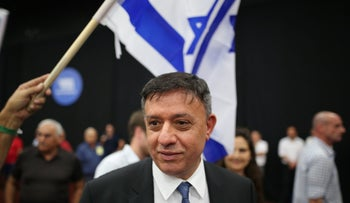 Avi Gabbay in Tel Aviv, September 14, 2017