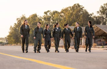 The right stuff? Female cadets on the fighter training course in the Israel Air Force.