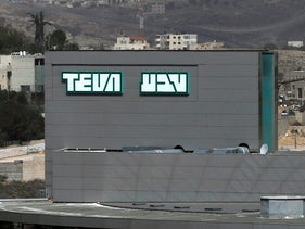 The logo of Teva Pharmaceutical Industries, the world's biggest generic drugmaker and Israel's largest company, is seen in Jerusalem February 8, 2017.