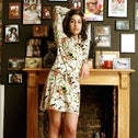 Amy Winehouse at her home in Camden, London in 2004.