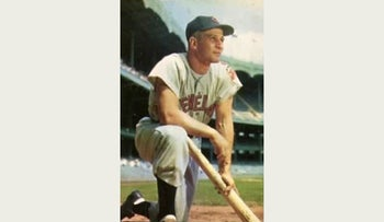 Al Rosen, in image from 1953 baseball card.
