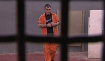 Ovadia Shalom, convicted of murder in 1995, seen here in prison in 2015.