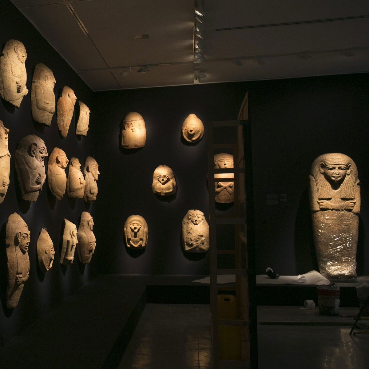 A view of the exhibition at the Israel Museum.