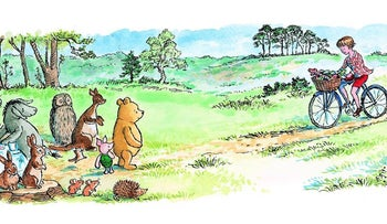 Winnie the Pooh, an illustration.