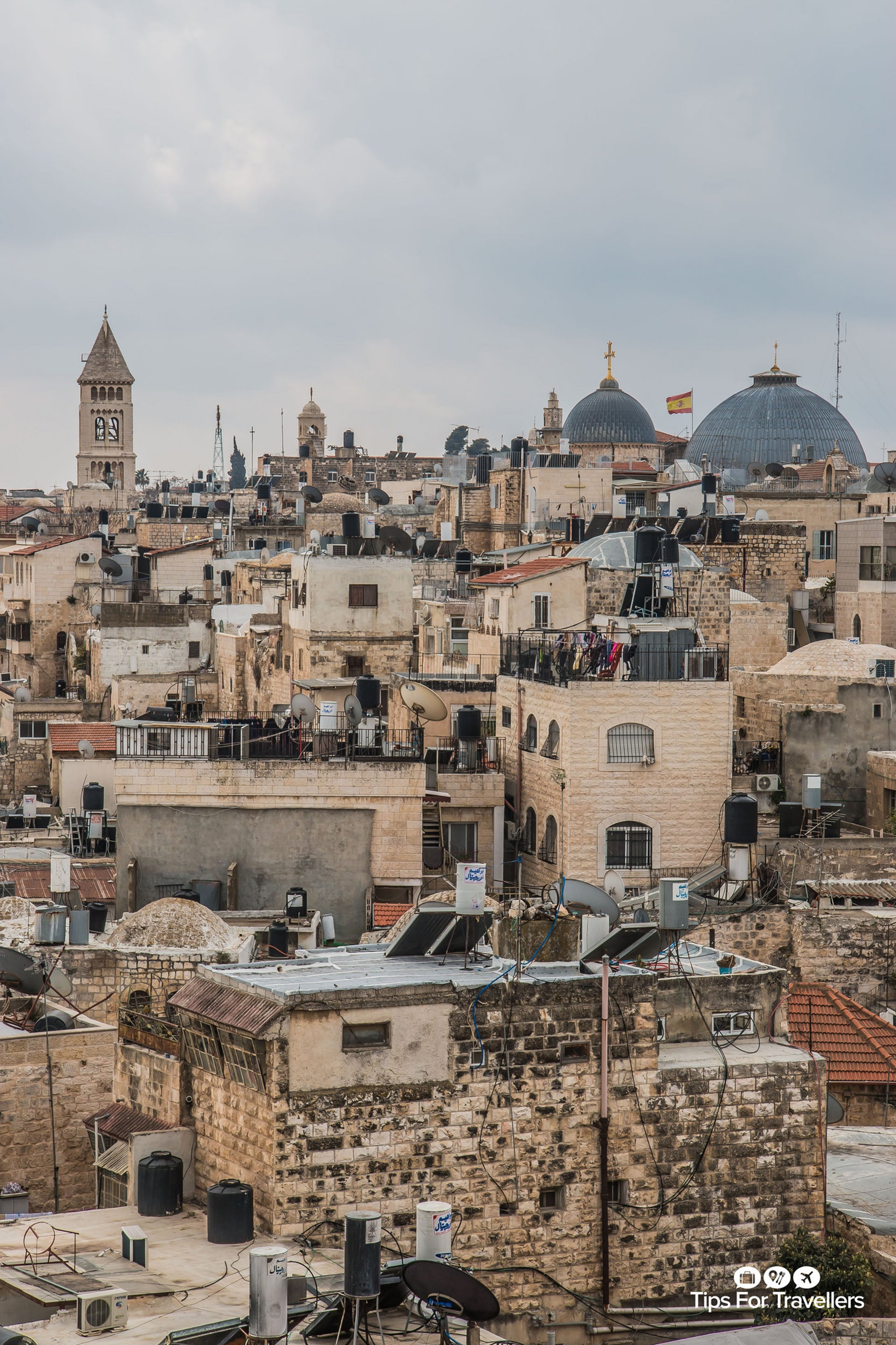 Jerusalem's old city. The beauty of its four quarters contrasts with the tensions.