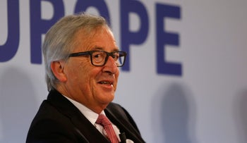 European Commission chief Jean-Claude Juncker attends a meeting on 'The Future of Europe' in light of Brexit, Valletta, Malta, March 29, 2017.
