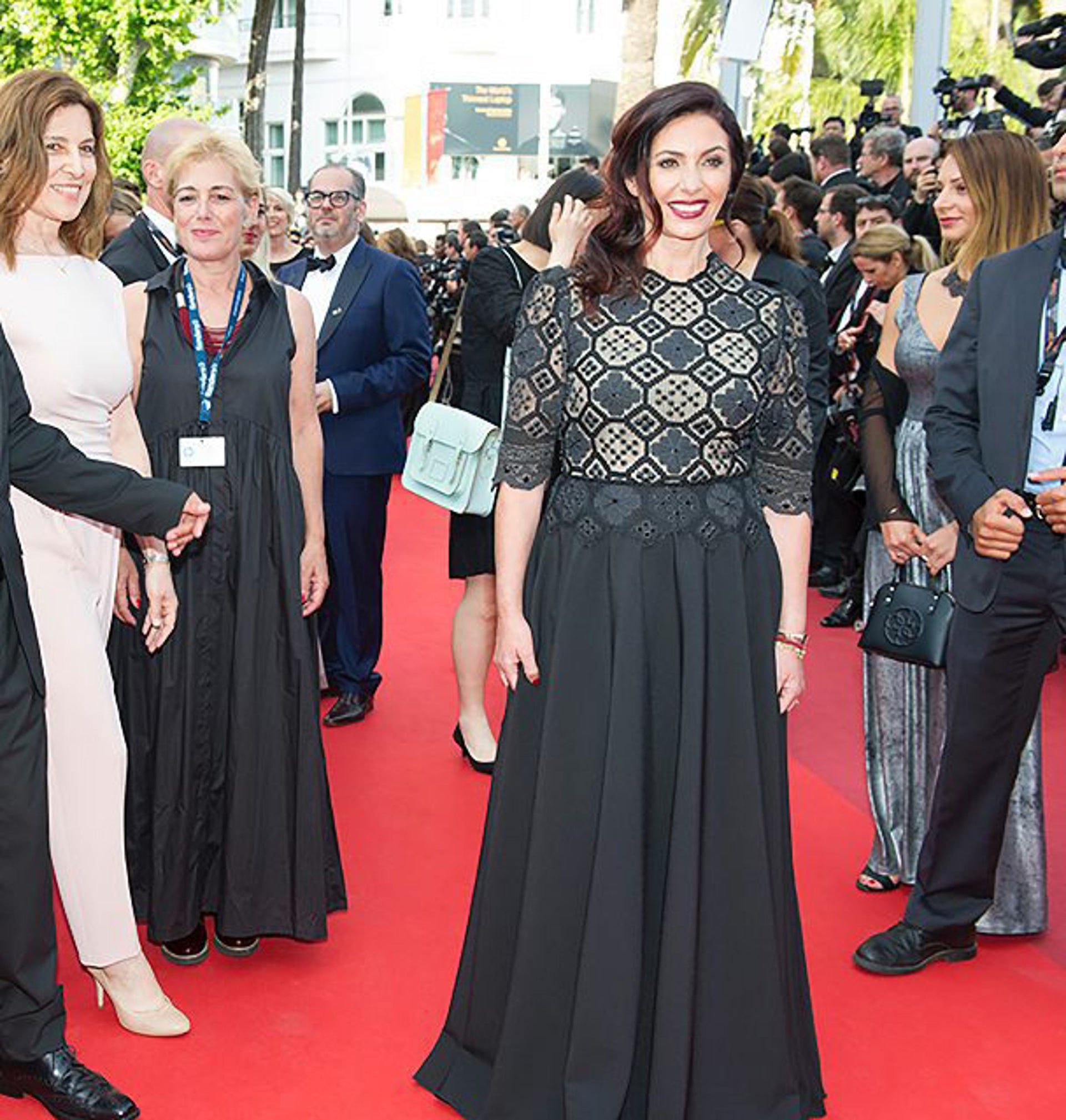 Culture Minister Miri Regev at the 69th Cannes Film Festival in Cannes, southern France, on May 15, 2016.