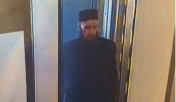 An image allegedly showing the St. Petersburg metro bomber.