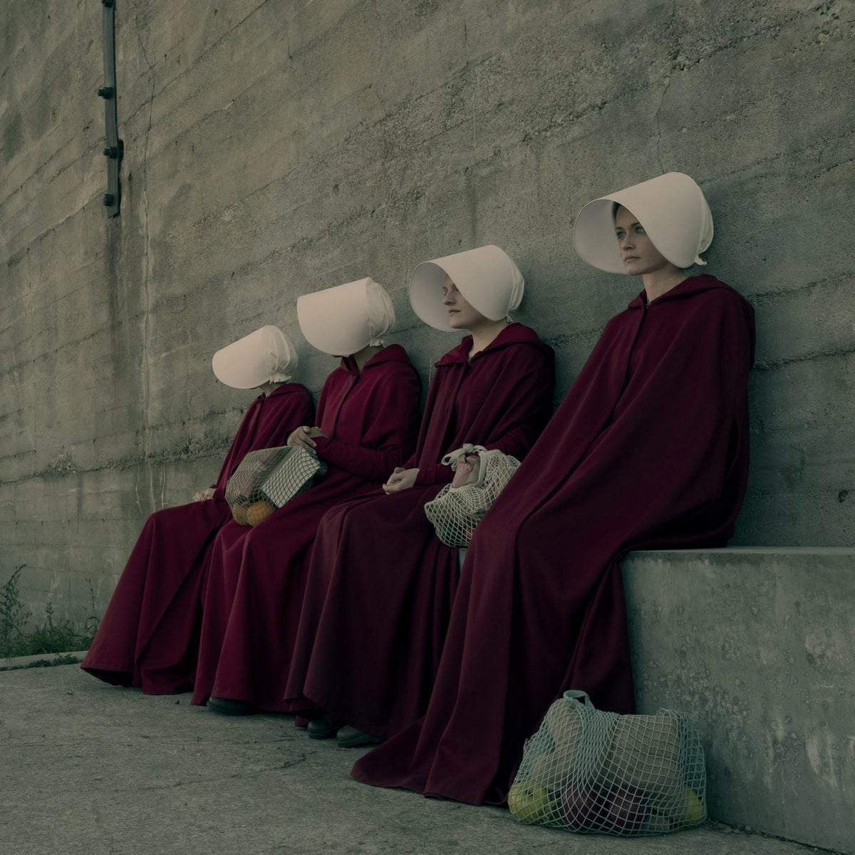 A scene from the Hulu adaptation of 'The Handmaid's Tale.'
