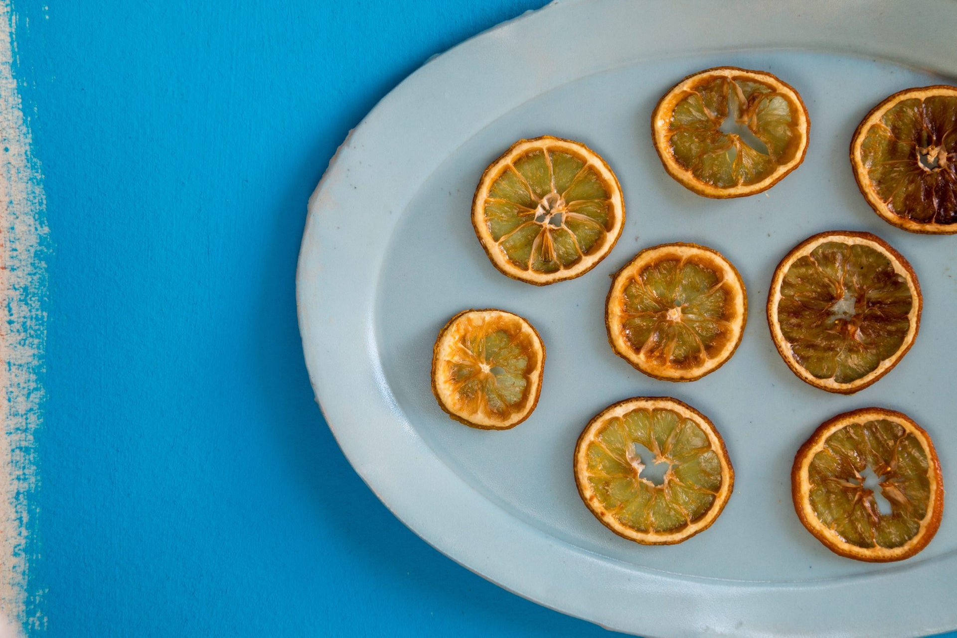 Dried and sugared lemons.