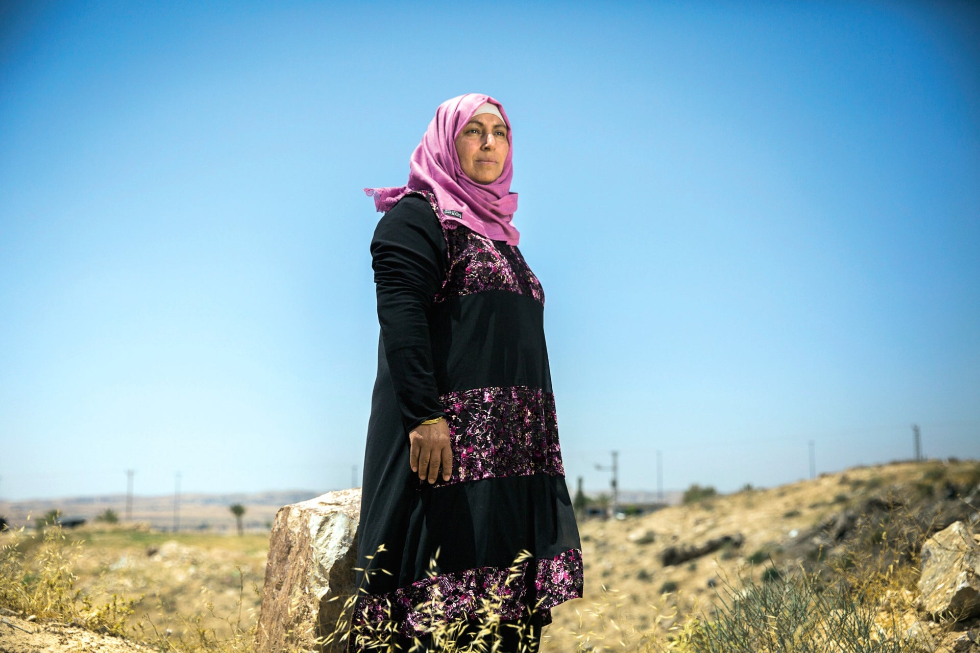 Dr. Amal Abu Sa'ad is one of only a handful of Bedouin women with a Ph.D.