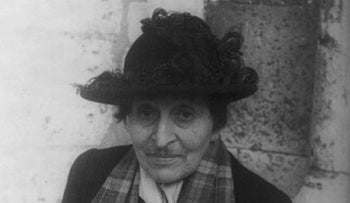 Alice B. Toklas, pictured in 1949.