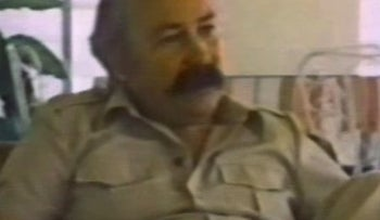 Frank Terpil as seen in a 1982 documentary 'Confessions of a Dangerous Man.'