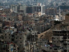 A view of Damascus, Syria, March 3, 2016.