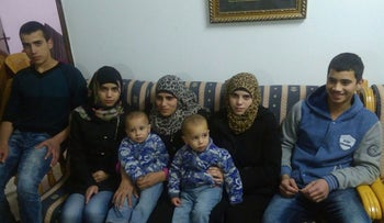 Members of the Tamimi family.